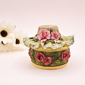 Summer Bonnet Vintage Ring Box